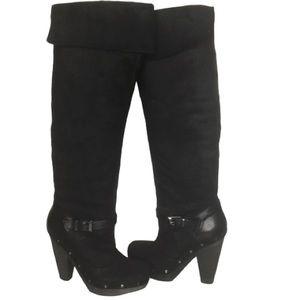 Rachel Roy Rfenkala over the knee black boots SZ 7